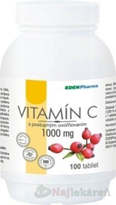 EdenPharma VITAMÍN C 1000MG 100TBL