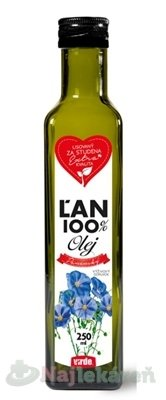 Virde ĽAN 100% olej 250 ml - Vidre Laň 100% olej 250 ml
