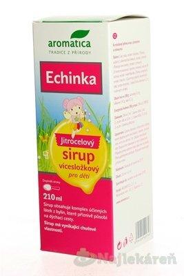 aromatica ECHINKA Skorocelový sirup pre deti