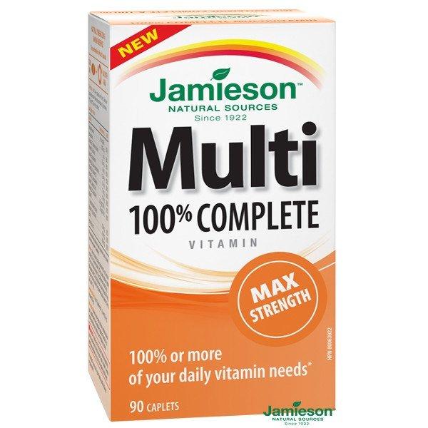 Jamieson Multi Complete Maximální síla 90 tabliet