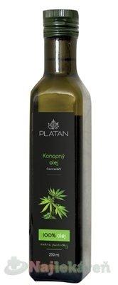 Platan Konopný olej 250ml - PLATAN Konopný olej 250 ml