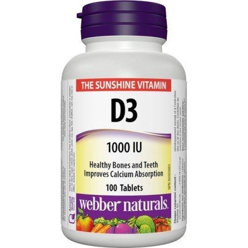 WN Vitamín D3 1000 IU 100 tbl