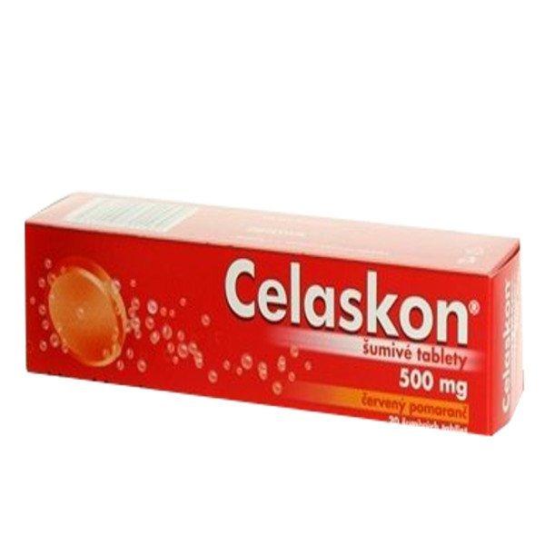 Celaskon Vitamin C 500mg Červený Pomaranč tbl.eff.20 x 500mg