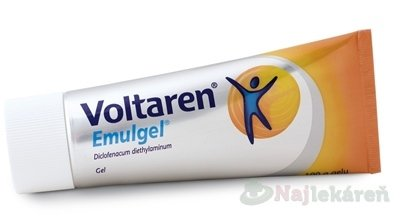Voltaren Emulgel, na liečbu bolesti, 100 g