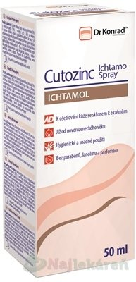 Dr.Konrad Cutozinc Ichtamo Spray 50 ml