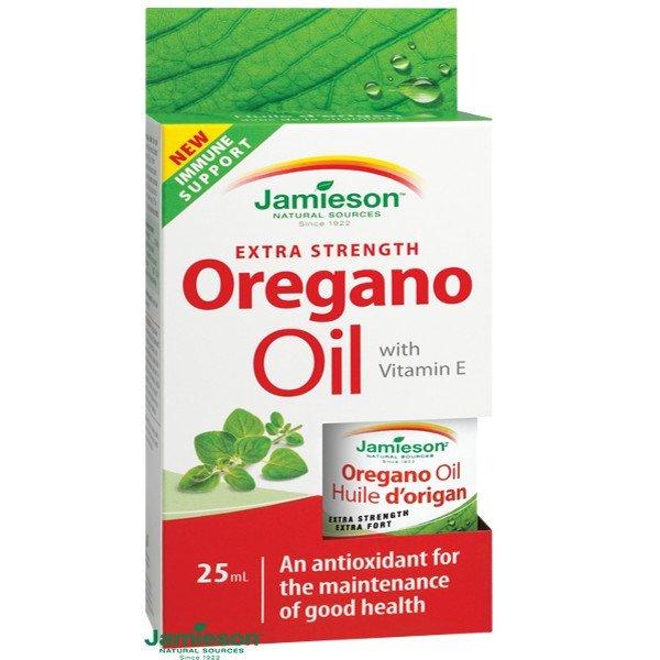 Jamieson Oreganový olej na úľavu od tráviacich ťažkostí 25 ml