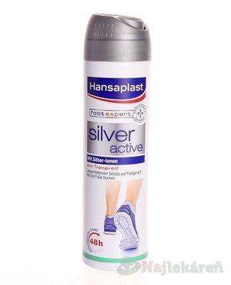 HANSAPLAST sprej na nohy SILVER active Antiperspirant (48 h) 1x150 ml