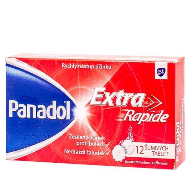 Panadol extra Rapide eff 12 x 500 mg proti bolesti
