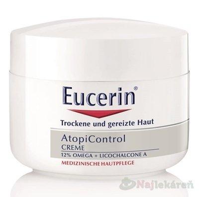 Eucerin AtopiControl KRÉM na tvár a telo