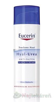 Eucerin Hyal-Urea nočný krém proti vráskam 50 ml
