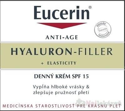 Eucerin HYALURON-FILLER+ELASTICITY denný krém