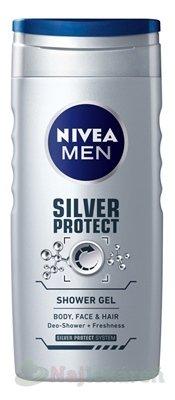 Nivea Men Silver Protect sprchový gél 250 ml