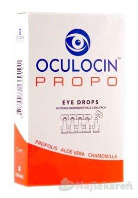 OCULOCIN PROPO očné kvapky - Origmed Oculocin Propo oční kapky 10 x 0,5 ml