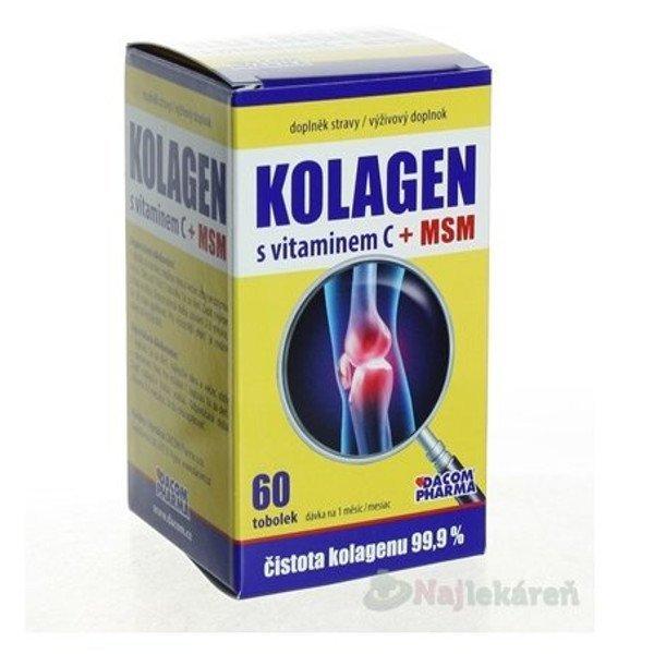 DACOM Pharma Kolagén s vitamínom C a MSM 60 cps.
