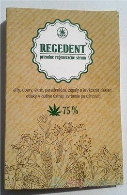 Cannabis Pharma-derm Regedent prírodné regeneračné sérum 1,2 ml