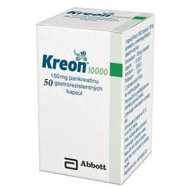 KREON 10000, 150mg /50cps