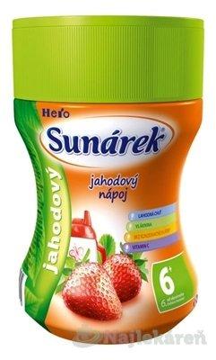 Sunárek instantný nápoj jahodový