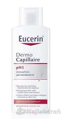 Eucerin DermoCapillaire pH5 šampón na vlasy 250 ml