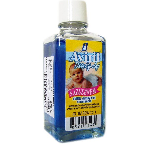 Aviril detský olej s azulenom 50ml