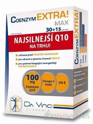 Coenzym EXTRAMax 100mg DVA tbl. 30+15
