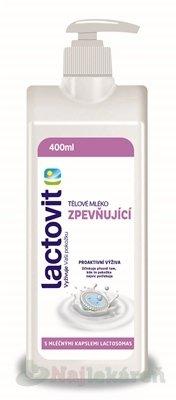 Lactovit Telové mlieko - Lactovit zpevňující tělové mléko s dávkovačem 400 ml