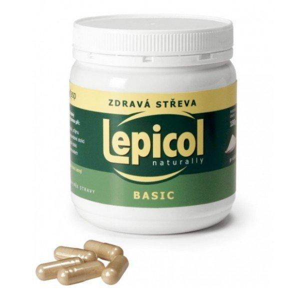 ASP Czech Lepicol kapsle pro zdravá střeva 180 kapsúl