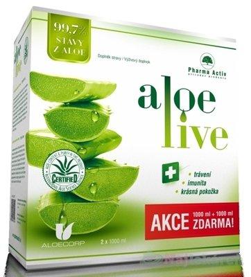 Pharma Activ AloeLive 1000 ml + 1000 ml