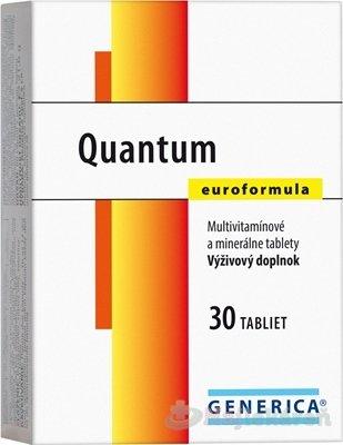 Generica Quantum Euroformula 30 tabliet