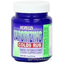 DELON VAPORIZING COLDS RUB