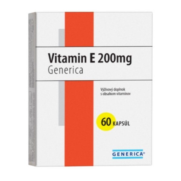 Generica Vitamín E 200mg 60cps