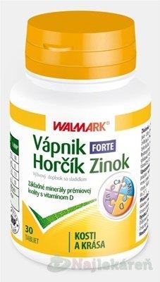 WALMARK VÁPNIK-HORČÍK-ZINOK FORTE