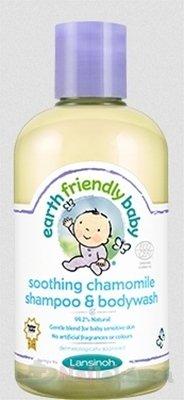LANSINOH EFB Zjemňujúci šampón a telové mydlo 250ml - Lansinoh EFB zjemnujuci šampón a telove mydlo harmanček 250 ml