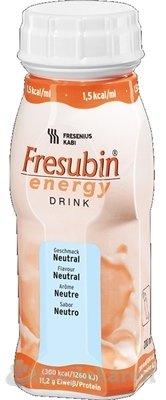 Fresubin Energy DRINK neutrálna 4x200 ml - Fressenius Kabi Fresubin Energy neutrálna sol 4 x 200 ml