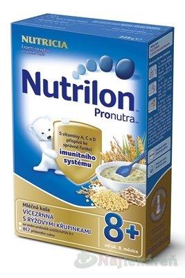 NUTRICIA Nutrilon Pronutra viaczrnná s ryžovými chrumkami 225 g