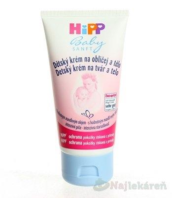 HiPP BabySANFT Krém na tvár a telo