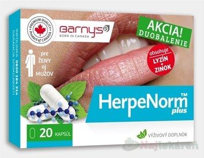 Barnys HerpeNorm plus 20 cps.