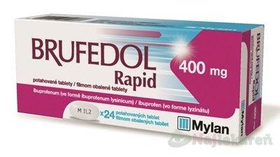 Brufedol Rapid 400 mg na bolesť a horúčku