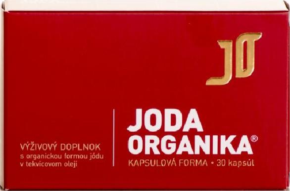 JODA ORGANIKA KAPSULOVÁ FORMA 30cps