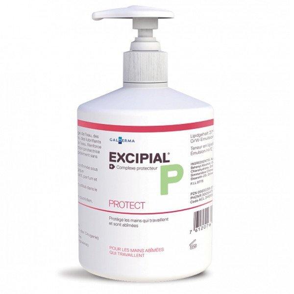 Excipial D Protect ochranný krém na ruky pre citlivú a podráždenú pokožku 500 ml