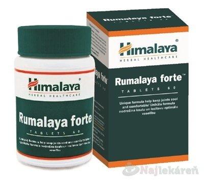 Himalaya Rumalaya Forte, výživový doplnok, 60 ks - Himalaya Rumalaya Forte 60 tabliet