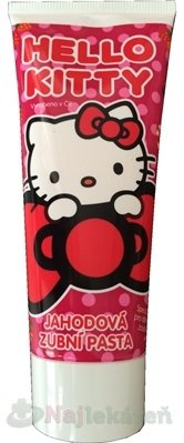Hello Kitty Zubná pasta