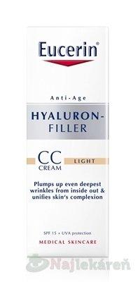 Eucerin Hyaluron-Filler CC krém SPF15 1 Light 50 ml