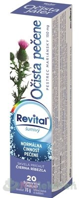 Revital Očista pečene + pestrec mariánsky 150 mg