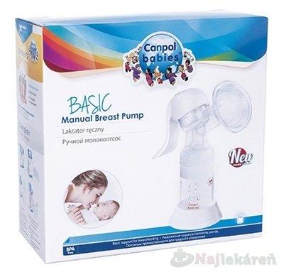 Canpol Babies BASIC Manuálna odsávačka