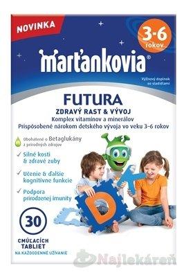 WALMARK Marťankovia FUTURA 3-6 - Walmark Marťankovia Futura 3-6 30 tbl