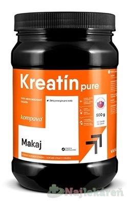 kompava KREATÍN pure - Kompava Kreatín 500 g