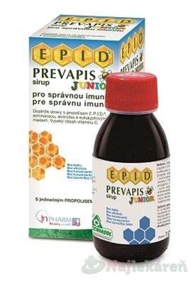 PREVAPIS JUNIOR sirup - Prevapis Junior sirup 100 ml