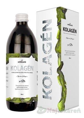 nefdesanté KOLAGÉN, výživový doplnok, 500 ml - Nefdesanté Kolagén mangová príchuť 500 ml