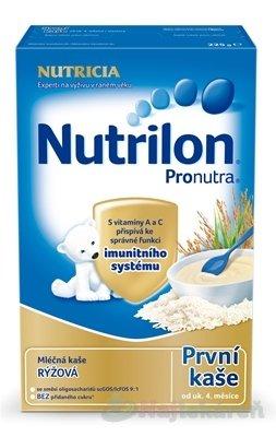 Nutrilon Pronutra prvá obilno-mliečna kaša ryžová - NUTRICIA Nutrilon Ryžová 225 g