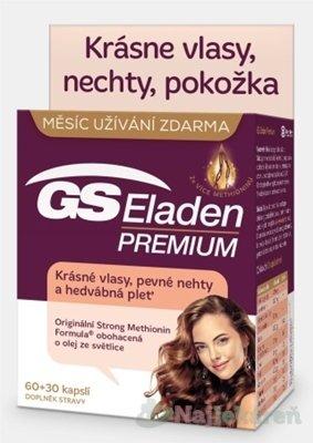 GS Eladen PREMIUM - GS Eladen Premium 60+30 kapsúl